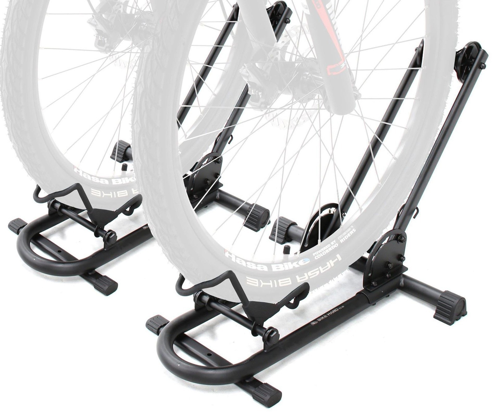 BIKEHAND Bike Floor Parking Rack Storage Stand Bicycle Pack of 2