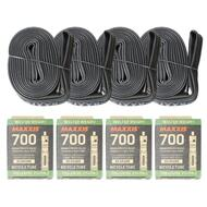 Maxxis Welter Weight Road Bike Inner tube 700x18/25C FV48L pack of 4