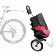 CyclingDeal Foldable Bicycle Bike Shopping Trailer with Luggage Bag