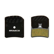 Brakco Organic Disc Pads With Heat-dissipation Fin For Hope E4