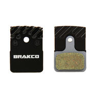 Brakco Organic Disc Pads With Heat-dissipation Fin For Shimano Ultegra BR-RS805/BR-RS505