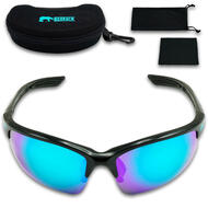 Bearack Bicycle Bike Cycling Jet Pro Blue Lens Polarized Sunglasses