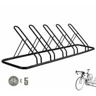 1 - 5 Bike Floor Parking Rack Storage Stand Bicycle