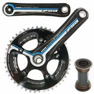 FSA K Force CK8200 Cyclocross Carbon Bike Crankset 36-46 For Shimano 2x10