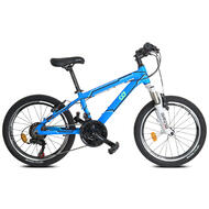 "CyclingDeal Kids Children Mountain Bike Bicycle MTB with Detachable Training Wheels - 18 Speed 20"" Wheels 12"" Frame for 5-10 Years Old"