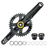 DH Mountain Bike Crankset 36T 170mm Black