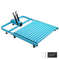 CyclingDeal Balance bike Trainer Treadmill for kids and Toddlers Sports Training and Balancing Equipment Blue