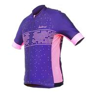 spring/summer new cycling suit bike short sleeve top Starry Jersey