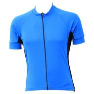 Jackbroad Premium Quality Cycling Short Sleeves Jersey Blue