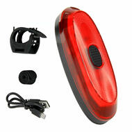 Antusi A1 IP65 Bike Bicycle Intelligent Brake Taillight 700mAh Lithium USB Rechargeable