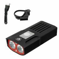 Antusi S6 Bike Bicycle Aluminum Headlight T6 LED 1000 Lumen USB Rechargeable