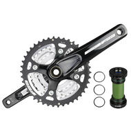 FSA Comet CK-7152STT Mountain Bike Alloy Crankset 42-32-24T 170/175mm with BB 10 Speed Black