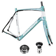 Bianchi Road C2C Infinito UCI Carbon Frameset With Headset and Fork Green/Black