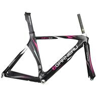 GARNEAU LGS-MER EX 700C Road Bike Carbon Frame with Fork Seatpost Black 515mm