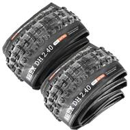 "Onza Ibex DH Mountain Bike Bicycle Foldable 1 Pair Tyre 26"" x 2.40"""