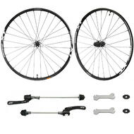 "Shimano XT M8000 27.5"" MTB Disc Wheelset Front & Rear QR TLR"