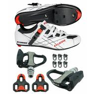 SR493B Road Bike Shoes VENZO Look Keo Pedals & Cleats