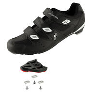 CyclingDeal Road Indoor Bike Men's Cycling Shoes with Look ARC Delta Compatible Cleats
