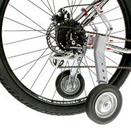 "Adjustable Adult Bicycle Bike Training Wheels Fits 22"" to 28"""