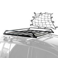Car Roof Tray Platform Carry Basket With Net