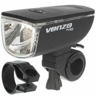 VENZO 1 Watt Bicycle Bike LED Front Light 3 Functions
