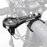 Venzo CNC Alloy Bike Handlebar Mount for Garmin and Gopro Computer