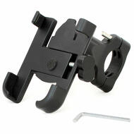 "Bike Bicycle Handlebar Iphone Smart Mobile Phone CNC Holder Case 3.8"" Width"