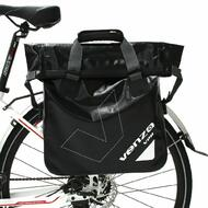 VENZO 500D Waterproof Tarpaulin Bike Bicycle Pannier Bag