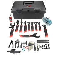 VENZO Complete Bike Bicycle Professional Repair Tools Tool Kit Set