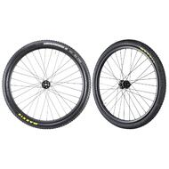 "Carbon MTB Tubeless Wheelset 29"" Maxxis Tires Novatec Hubs Front 15mm Rear 12mm"