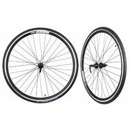 WTB Freedom Tunnel Top Road Wheelset with Continental Ultrasport Tyre 700 x 23C and Tubes