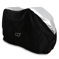 Bike Cover for Outdoor  Bicycle Storage -3 Bikes - Heavy Duty 190T Polyest Material, Waterproof Weather Conditions for Mountain & Road Bikes
