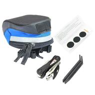 BIKEHAND Bike Bicycle Mini Folding Tool Kit with Saddle Bag