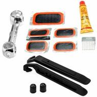 Bicycle Bike Tyre Tube Puncture Repair Kit with Tyre Levers