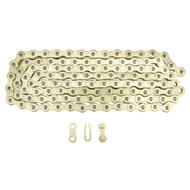 KMC Z1 Wide Bicycle Chain Shimano Sram Single Speed 1/2 x 1/8 inch 112L Gold