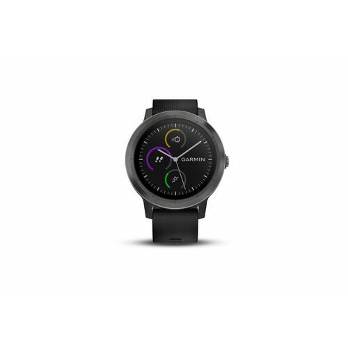 Garmin Vivoactive 3 Fitness Band Watch Black with Slate Hardware