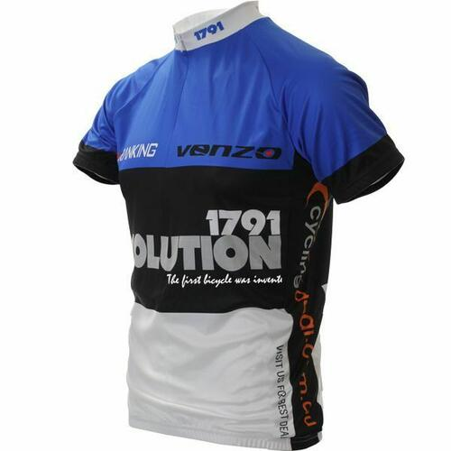 1791 Short Sleeve Bike Cycling Bicycle Jersey XXL