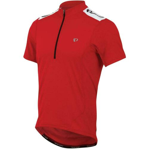 Pearl Izumi QUEST Mens Short Sleeve Cycling Jersey Red Medium