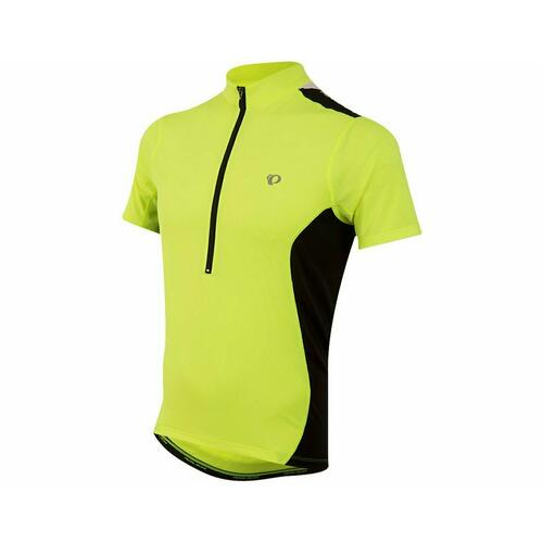 Pearl Izumi QUEST Mens Short Sleeve Cycling Jersey Yellow Small